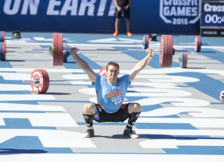 Ben Smith Snatch Ladder at the CrossFit Games