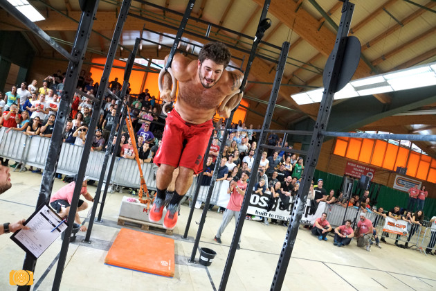 Mat Fraser at 2015 Swiss Alpine Battle presented by Kill Cliff