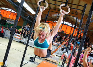 Sara Sigmundsdottir at 2015 Swiss Alpine Battle presented by Kill Cliff