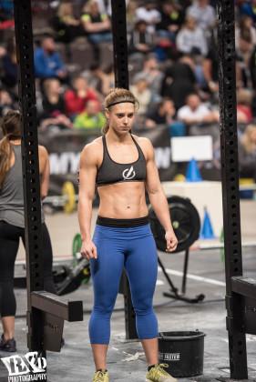Carmen Bosmans at The Athlete Games 2015.