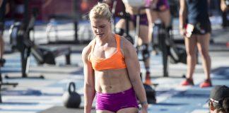 Katrin Davidsdottir at the 2015 CrossFit Games