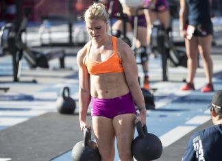 Katrin Davidsdottir at the 2015 CrossFit Games