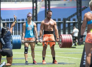Rich Froning at the 2015 CrossFit Games