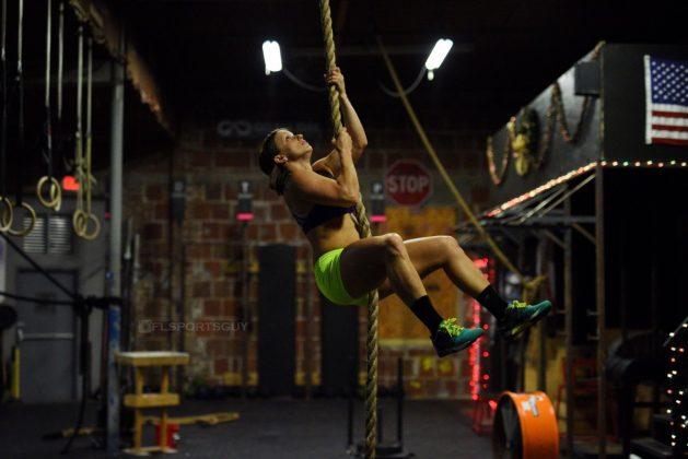 Hannah Richards, member of NPGL's Miami Surge and Regional CrossFit Athlete