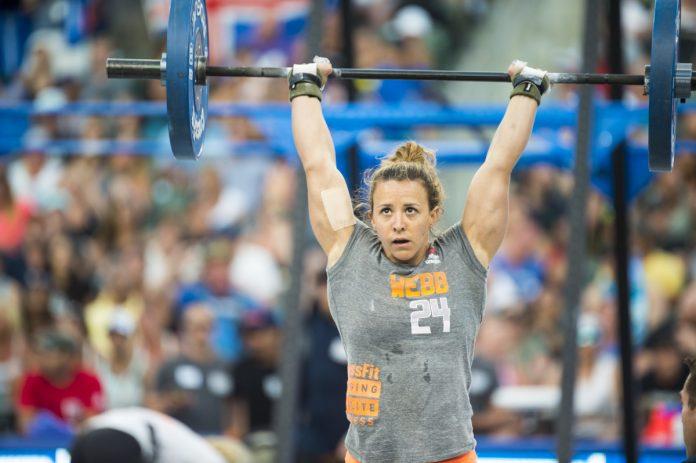 Kara Webb at the 2015 CrossFit Games