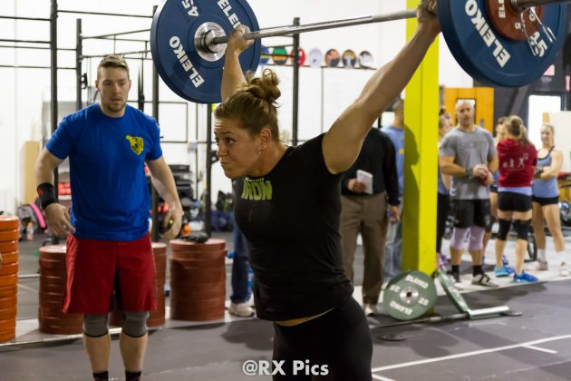 Whitney Gelin at the 2015 NEGL Combine & Pro-Am