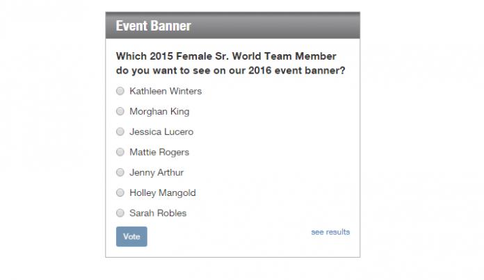 USAW Female Banner Survey 2016