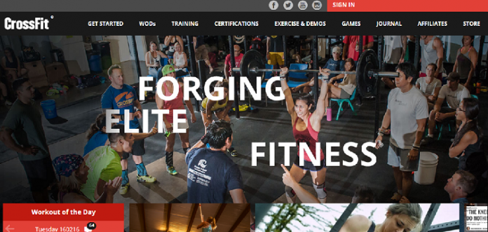 Crossfit.com New Website