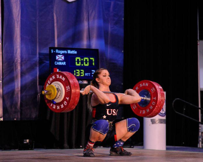 Mattie Rogers at 2016 Senior Trials