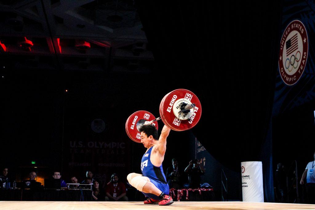 Alex Lee at 2016 Olympic Team Trials