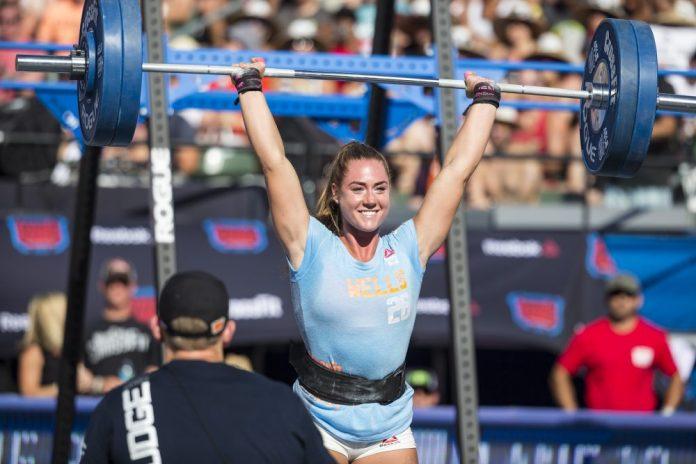 Brooke Wells at CrossFit Games