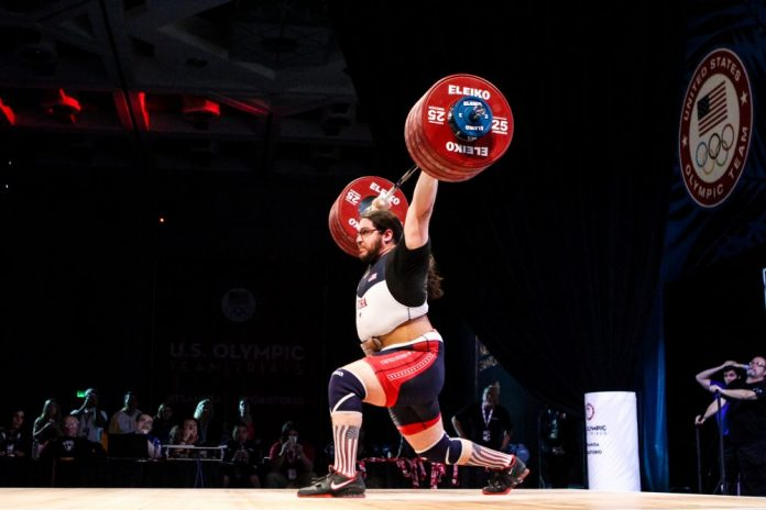 Caine Wilkes at 2016 Olympic Team Trials