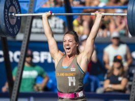 Camille Leblanc-Bazinet at 2015 CrossFit Games