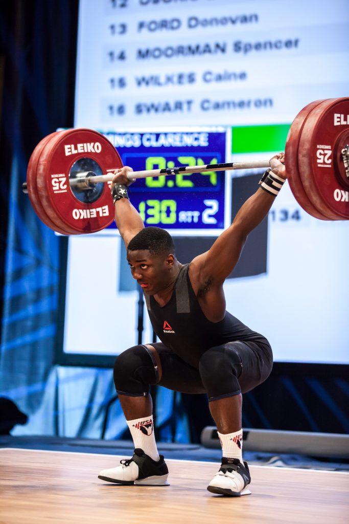CJ Cummings at 2016 Olympic Team Trials