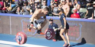 Jon Pera at the 2015 CrossFit Games