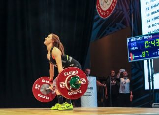 Hayley Reichardt at 2016 USAW National Championships