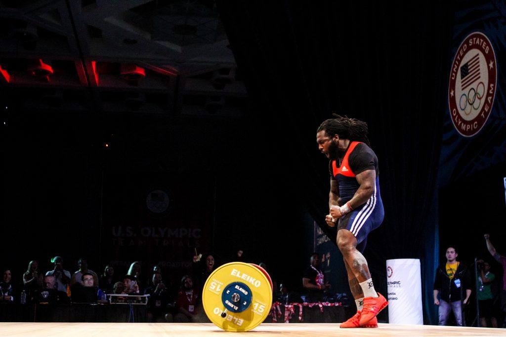 Kendrick Farris at 2016 Olympic Team Trials