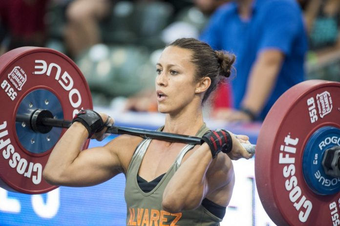 Margaux Alvarez at 2015 CrossFit Games
