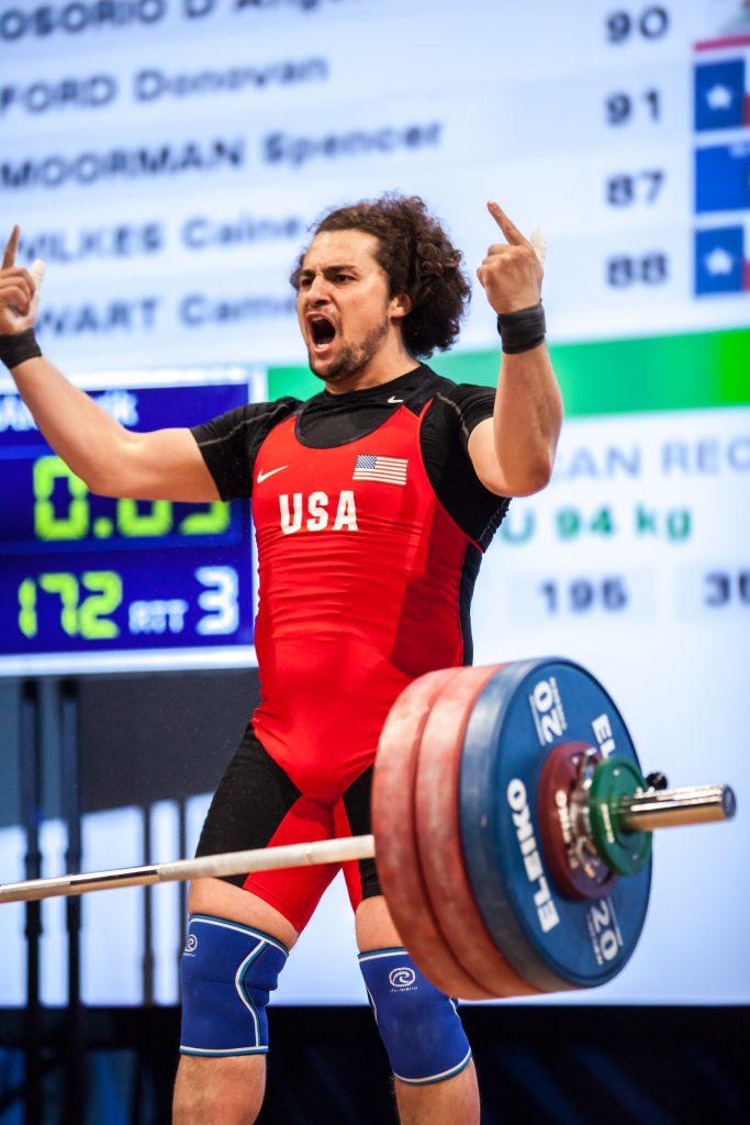 Norik Vardanian at 2016 Olympic Team Trials