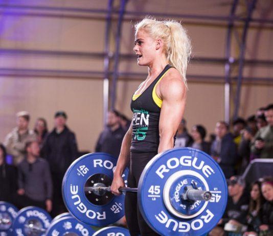 Sara Sigmundsdottir during 2016 Open