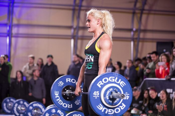 Sara Sigmundsdottir during 2016 Open