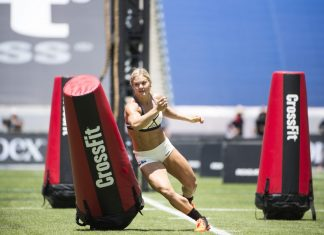 Brooke Ence at 2015 CrossFit Games