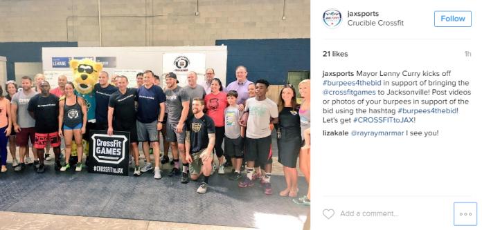 JaxSports Bid for CrossFit Games