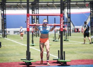 Sam Briggs at 2015 CrossFit Games