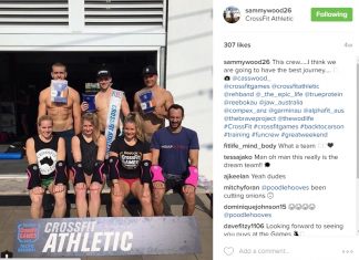 Sammy Wood on CrossFit Athletic Team
