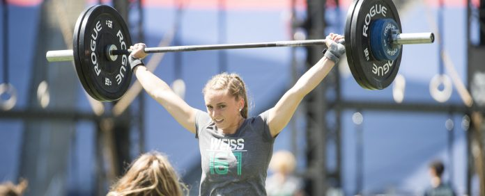 Allison Weiss during Adios Amigos at the 2016 Reebok CrossFit Games