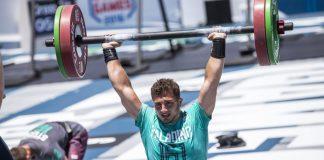 Nick Paladino at the 2016 CrossFit Games