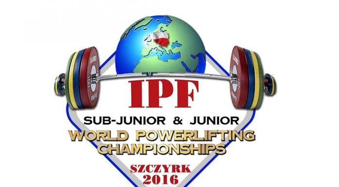 2016 IPF Sub-Junior and Junior World Championships Logo