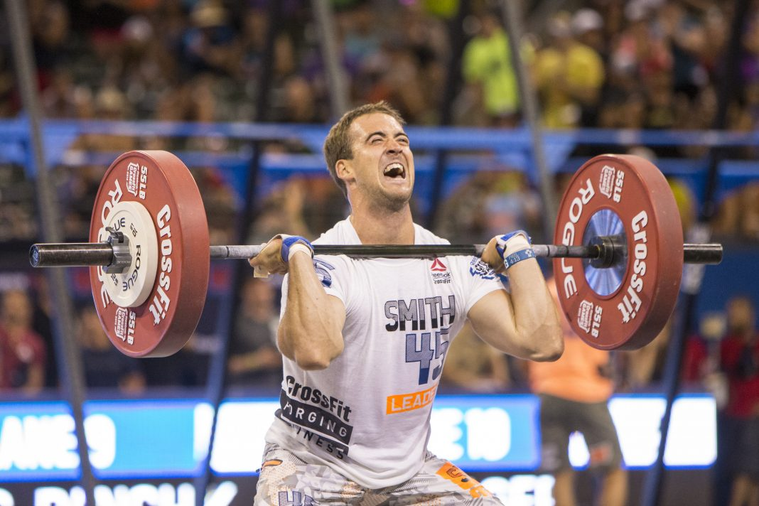 Ben Smith at the 2015 CrossFit Games