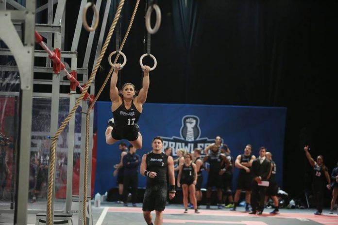 Alexandra LaChance on the ring muscle-ups