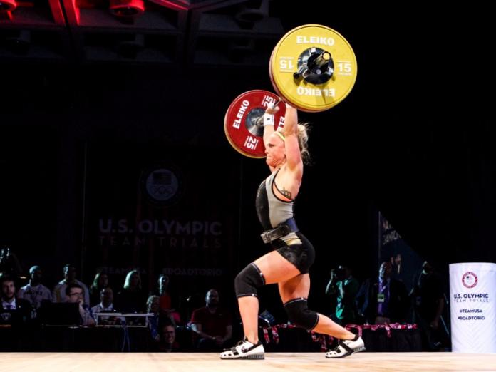 Morghan King at US Olympic Trials