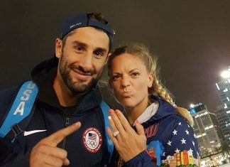 Morghan King and Dean Kruse are engaged at Rio Olympics