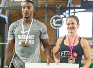 Elijah Muhammad and Kari Pearce, Team Chocolate Milk, Win Swiss Alpine Battle