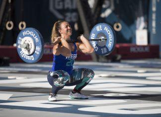 Kara Webb at the 2016 CrossFit Games