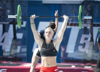 Katrin Davidsdottir at the 2016 CrossFit Games
