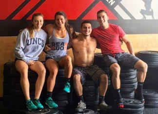 Teen Redline Dream Team during CrossFit Team Series