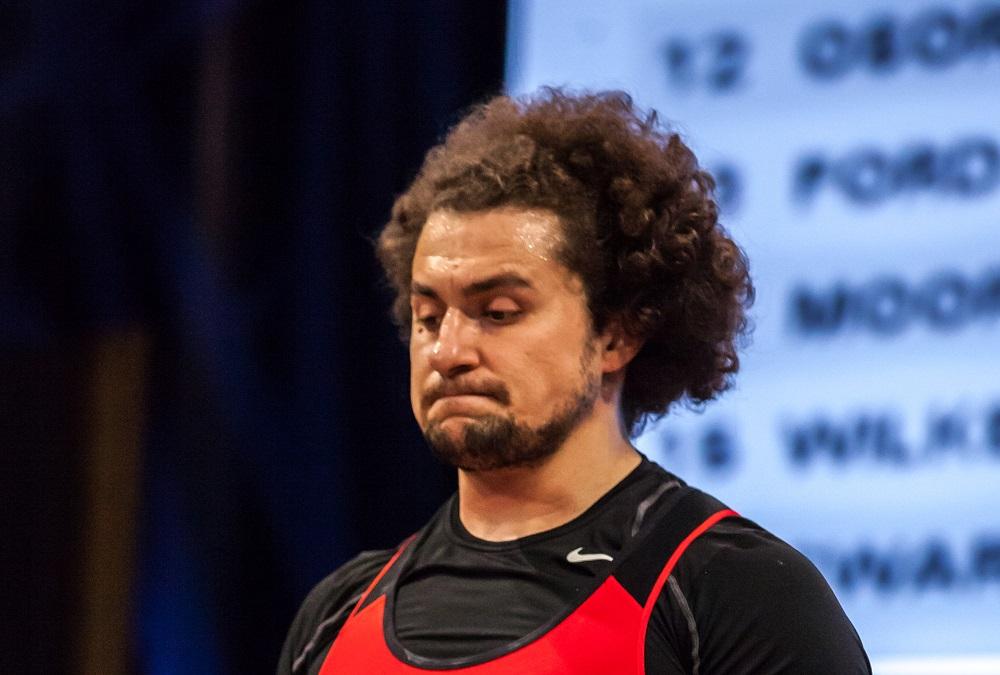 Norik Vardanian at 2016 Olympic Trials