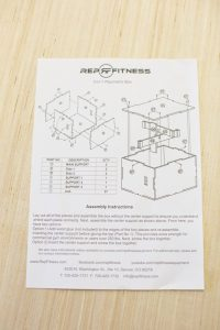 Rep Fitness 3-in-1 Plyo Box Instructions