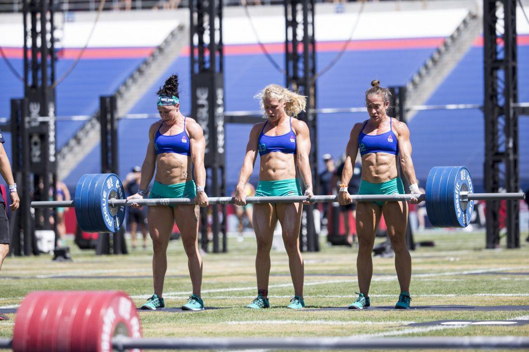 Team at 2016 CrossFit Games
