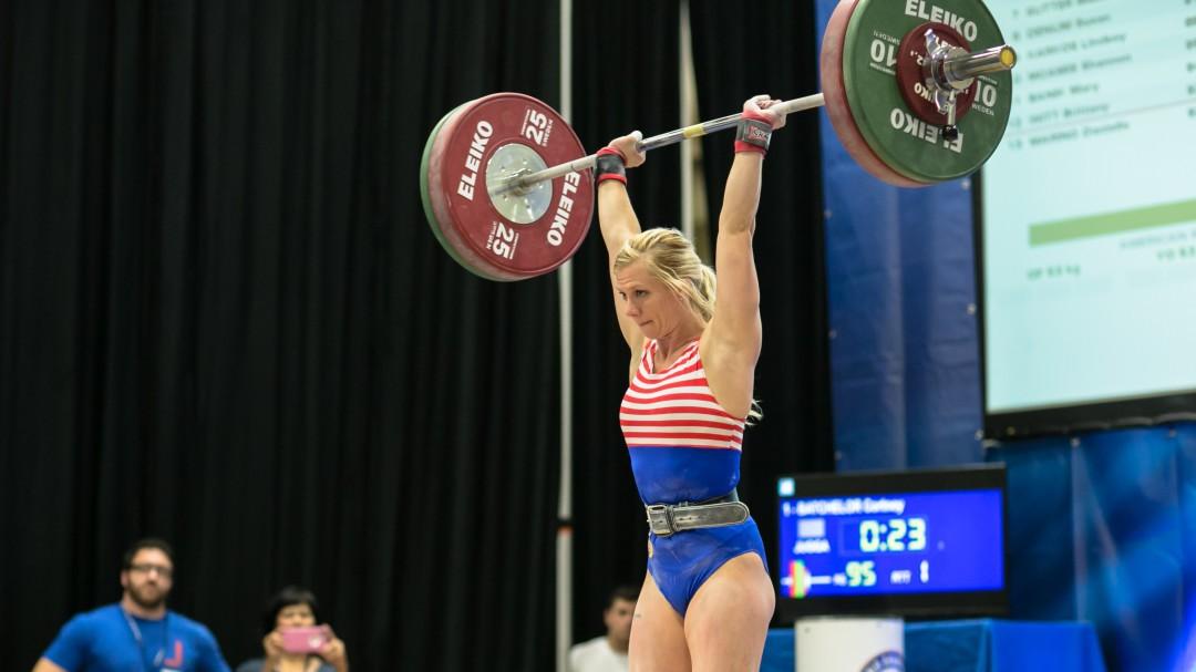 Cortney Batchelor at 2016 Under 25 Championships