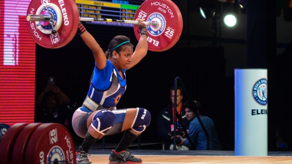Mathlynn Sasser at 2015 IWF World Championships