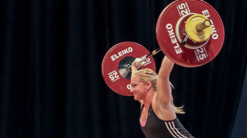 Sarabeth Phillips at 2016 USAW National Championships