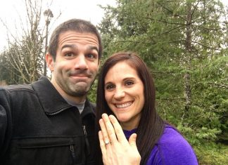 Pat Sherwood and Emily Carothers are engaged