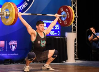 Brian Reisenauer Wins 2016 USA Weightlifting American Open