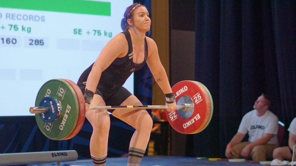 Emelie Parker at the 2016 National Championships