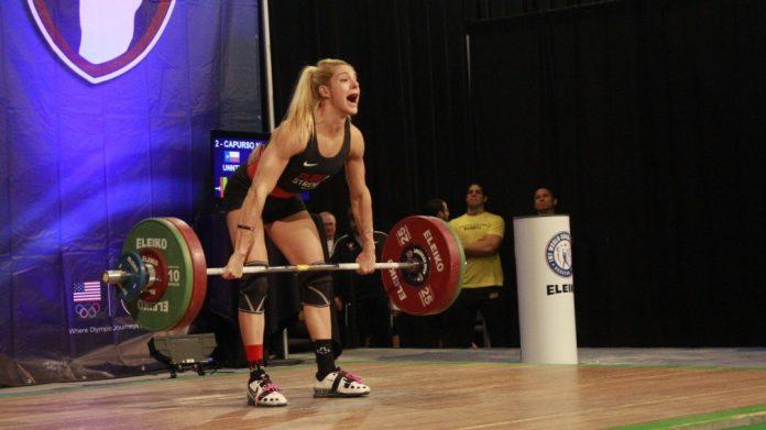 Nicole Capurso at 2015 USAW American Open